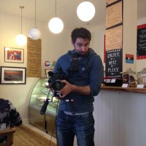 Seb the cameraman!